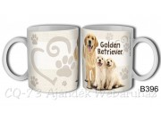 Bögre B396 Golden retriever kutya 3dl