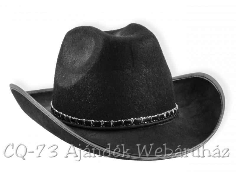 Cowboy kalap szegecselt - ajándék ötletek 6b34011750