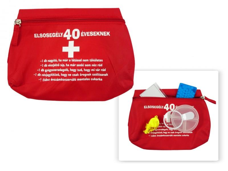 62ba8a5a90 Elsősegély táska 40 éveseknek - ajándék ötletek