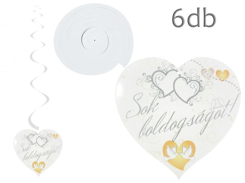 ed7ae20c91 CQ6097 Esküvői vendégkönyv 36 lap vonalas 26x18cm - ajándék ötletek