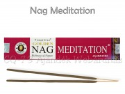 Füstölő Golden Nag Meditation 15g