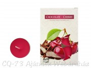 Illatos teamécses Chocolate-Cherry 6db