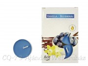 Illatos teamécses Vanilla-Blueberry 6db 4cm