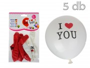 Lufi I love you 5db 30cm 20540