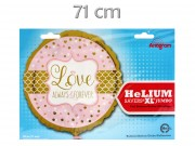 Lufi fólia Love always and forever 71cm N3445501