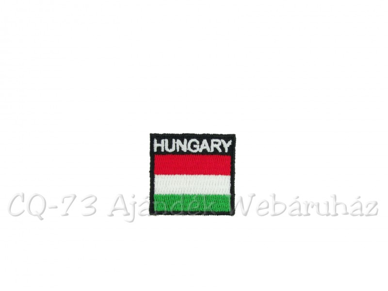 a4070b2d8b Matrica magyar zászló Hungary CA 3,5x3,5cm - ajándék ötletek