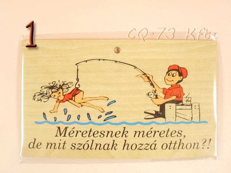 horgász szülinapi köszöntő Okoskodó fatábla Horgász   ajándék ötletek horgász szülinapi köszöntő