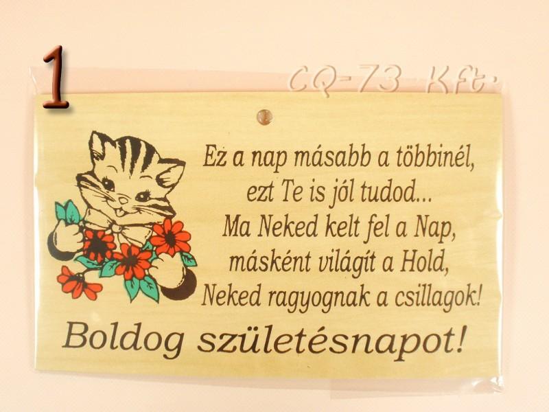 születésnapi idézet vicces Okoskodó fatábla Szülinapi köszöntő idézet   ajándék ötletek születésnapi idézet vicces