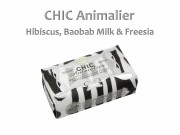 Szappan Chic Animalier hibiscus, baobab milk and freesia 250g
