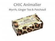 Szappan Chic Animalier mirrh, ginger tea and pachouli