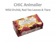 Szappan Chic Animalier wild orchid, red tea leaves and tiare 250g