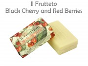 Szappan Il Fruetteto Black Cherry and Red Berries 250g