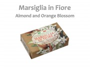 Szappan Marsiglia in Fiore almond and orange blossom 125g