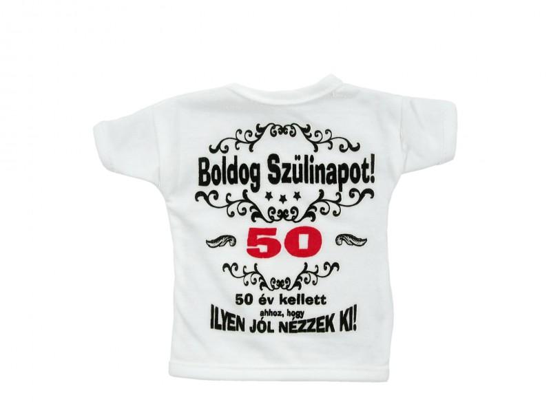 szülinapi ajándék 50 éves Üvegpóló 50 év kellett ahhoz Boldog Szülinapot!   ajándék ötletek szülinapi ajándék 50 éves