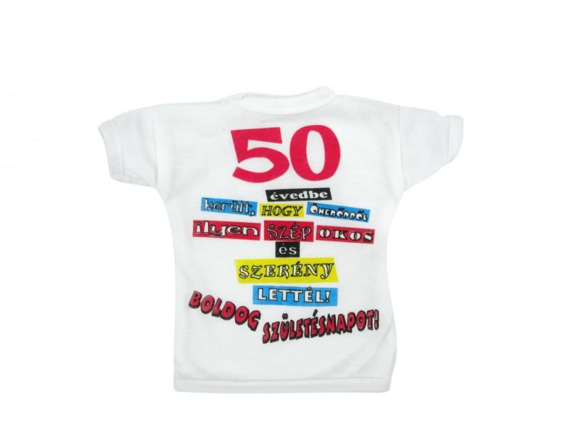 50 éves születésnapi vicces versek Üvegpóló 50 évedbe került Boldog Születésnapot!   ajándék ötletek 50 éves születésnapi vicces versek