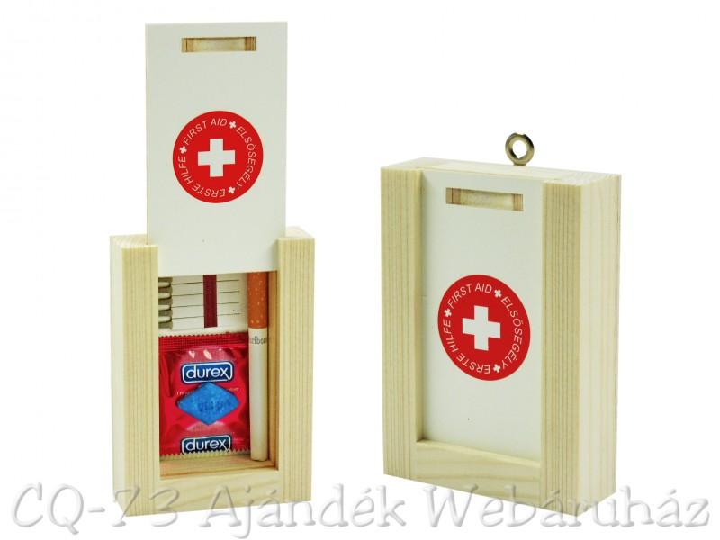 Vicces Elsősegély doboz férfiaknak - ajándék ötletek 4c27693c99