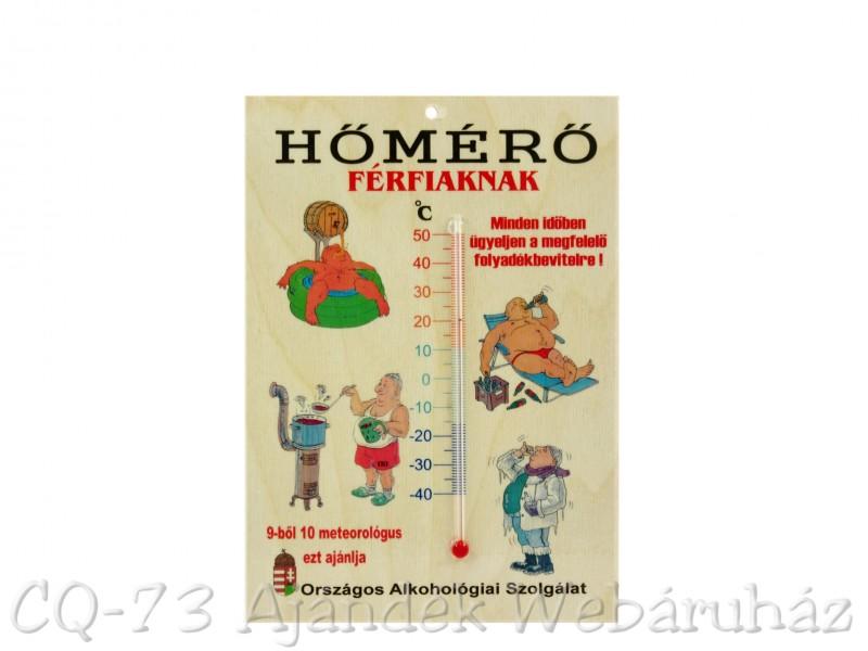 Vicces tábla Hőmérő férfiaknak - ajándék ötletek de0f88c64f